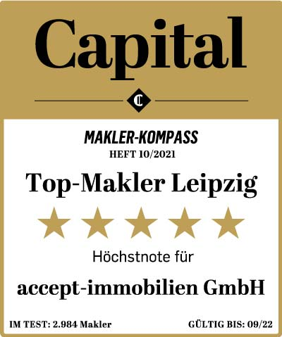 Siegel Top Makler Leipzig