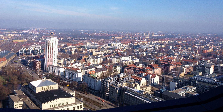 Aussicht vom Panorama Tower