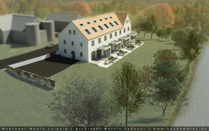 Visualisierung Wahrener Mühle